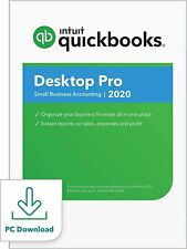 QuickBooks Desktop  Pro 2020  Accounting Software for Small Business with...