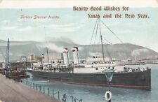 "Steamer Postcard. Turbine Steamer ""Invicta"" Fine condition!   Mailed 1907"