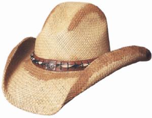 Bullhide Heritage Genuine Panama Straw Western Gus Cowboy Hat 2128