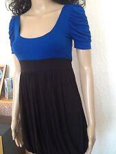 New Look Ladies Dress Size 10 Colour Black/blue