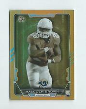 2015 Bowman Rainbow Orange #R36 Malcolm Brown Rookie Rams /299