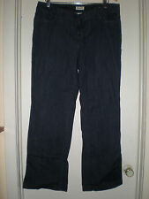 Women's St. John's Bay Dark Wash Bootcut Jeans 16