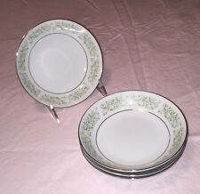"""Taihei Fine China Set of Four 5-1/2"""" Fruit Bowls Made in Japan, EXC COND!"""