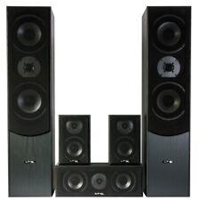 LTC E1004BL 5.0 HEIMKINO AUDIO SYSTEM HIFI LAUTSPRECHER BASS BOX SURROUND SOUND