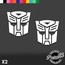 AUTOBOT CAR STICKER Laptop Decal TRANSFORMERS DECEPTICON Vinyl Funny Dub VW JDM