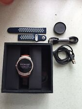 Ticwatch 2 Oak Smartwatch Ios/Android Brown Leather Strap - Always On Display