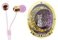 Pretty Soldier Sailor Moon Stained Glass Case Earphone Luna & Artemis SLM-52B