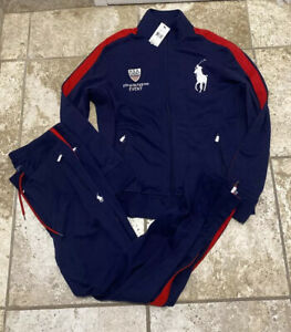 polo ralph lauren track suit big pony winter event M/L new with tags