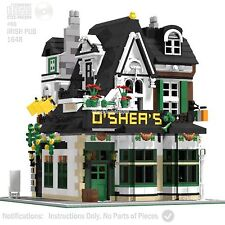 CD Lego Custom Irish Pub Modular PDF Book Instructions, Corner#66