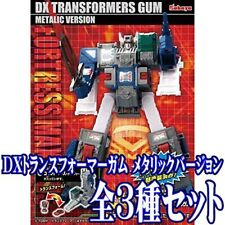 DX Transformers Gum Fortress Maximus Metallic ver. Model Kit Set of 3 Kabaya