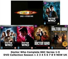 DOCTOR DR WHO SERIES 1-9 Complete Collection 1 2 3 4 5 6 7 8 9 NEW UK REL R2 DVD