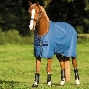 Horseware Amigo Hero 900 Turnout Lite 50g - Colony Blue - Regendecke