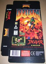 Atari Jaguar 64-Bit Games Console Original Doom Game Box NEW P/N: J9029E