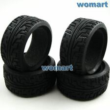 4 Stück 1/8 RC Soft Tires Reifen w/ Foam For 1/8 On-road Buggy Car upgrade parts