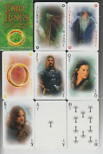 Herr der Ringe Lord of the Ring  Karten, 52 + 3 besondere Motive,neu Folie + OV