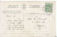 Family History Postcard - Worrall - Park Road - Ilford - Essex - Ref 1896A