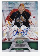 2011-12 NHL Certified Mirror Green Signatures #77 Jocob Markstrom SP #3/5