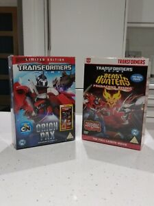 Limited Edition DVD Transformers Prime Orion Pax Beast Hunters Predacons Rising