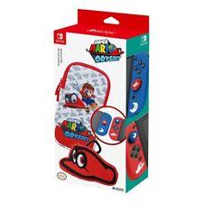 Sacoche souple et accessoires Super Mario Odyssey pour Nintendo Switch HORI