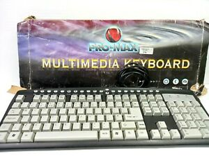 Old Pro Max Multimedia Keyboard Wired