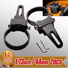 "2pcs 1.75"" inch 44mm Bull Bar Mount Bracket Clamps for Offroad LED Light Bar 4x4"