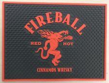 """Fireball Cinnamon Whisky Spill Mat Bar Mat Coaster 12"""" x 9.5"""" New"""