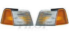 DOT SAE Left & Right Turn Signal Parking Lights FOR 1989-1995 Ford Thunderbird