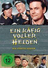 4 DVDs * EIN KÄFIG VOLLER HELDEN - KOMPLETT SEASON / STAFFEL 5 - MB # NEU OVP =