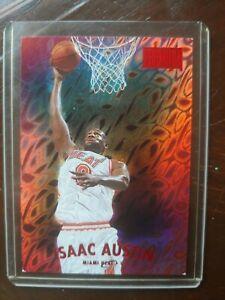 1997-98 Skybox Isaac Austin Star rubies 35/50. NBA basketball