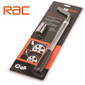RAC Extendable Telescopic Wheel Wrench Spanner Car Brace 17 & 19mm Socket New