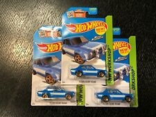 HOT WHEELS '70 FORD ESCORT FAST AND FURIOUS 2015 LOT OF 3