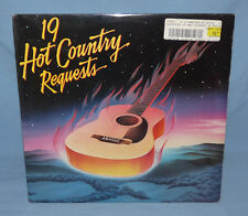 19 Hot Country Requests LP 1984 Haggard Skaggs Gilley Fricke Willie SEALED