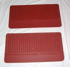 AUTOBIANCHI A112/ KIT PANNELLI PORTE ROSSI/ FRONT RED DOOR PANEL SET