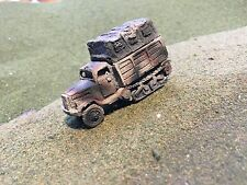 1/100th-15mm Painted WWII 2 German Opel Maultier Truck Wargaming Set of 2