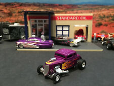 1:64 Hot Wheels LE Legends 1934 34 Ford Roadster 5 Window Coupe Hot Rod