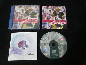 DC : NFL QUARTERBACK CLUB 2000 - Completo ! Dreamcast - CONSEGNA IN 24/48H !