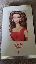 Barbie  Birthday Wishes, Red Gown Brunette Silver Label