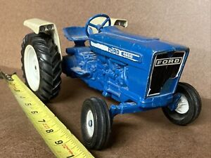 Ford 4600 Model Toy Tractor Blue Diecast ERTL No Box