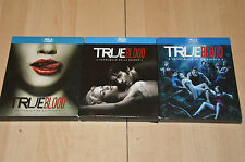 lot 3 Coffrets BLURAY TRUE BLOOD intégrales saison 1 2 et 3 - VF