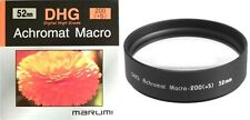 Marumi 52mm 52 DHG Macro +5 200 Achromat Achromatic Close up Lens made in Japan