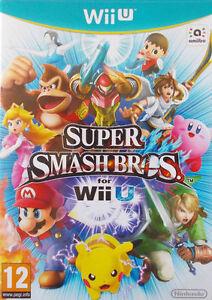 Super Smash Bros Wii U Video Game Fast Delivery!