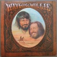 *Waylon Jennings & Willie Nelson – Waylon & Willie > Vinyl LP Stereo >Near Mint