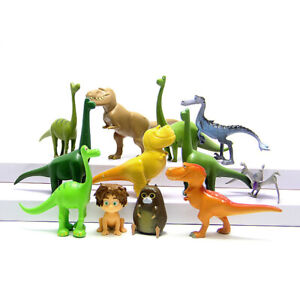 The Good Dinosaur Ramsey Action Figure Doll Gift Kids Toy Cake Topper 12 Pcs