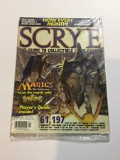 Scrye #57 MTG & CCG Price Guide Magazine *SEALED*