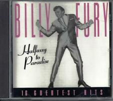 Billy Fury Halfway to Paradise - His Greatest Hits CD