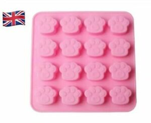 Silicone Mould Paw Print Shape cake Mould/Ice Cube Tray