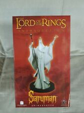 * LORD OF THE RINGS GENTLE GIANT SARUMAN GREY MAQUETTE STATUE HOBBIT ANIMAQUETTE