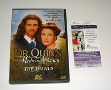 Actress Jane Seymour Dr Quinn Medicine Woman The Movies Signed DVD JSA CERT