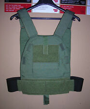 GENUINE RARE USSF SPECIAL FORCES LBT-6094B SLICK PC PLATE CARRIER GREEN NEW !!
