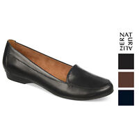 Naturalizer Womens Saban Leather Loafers